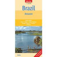 Brazylia Amazonka mapa 1:2 500 000 Nelles (opr. twarda)