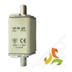 Wkładka topikowa zwłoczna gg WT-00 160A, bezpiecznik przemysłowy ETI