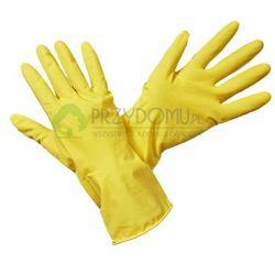 Rękawice gumowe gospodarcze żółte rozmiar M