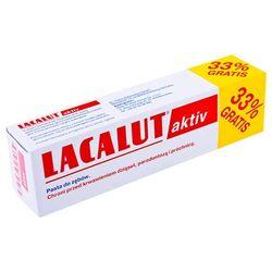Lacalut aktiv Pasta do zębów wrażliwych 75ml