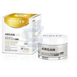 Mincer Pharma ARGANLIFE 50+ Odżywczy krem do twarzy na dzień i na noc 50 ml