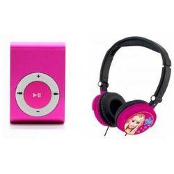 Słuchawki Dla Dzieci Barbie + Odtwarzacz MP3