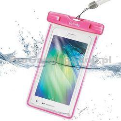 Etui wodoszczelne Celly do Sony Xperia J - ST26i, różowy