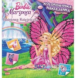 Barbie™ Mariposa i Baśniowa Księżniczka NS103 (opr. miękka)