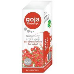 Sok z owoców goji z witaminą C - - 500 ml (but.szkl.)