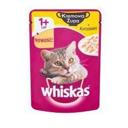Whiskas kremowa zupa z kurczakiem karma pełnoporcjowa 85 g