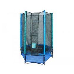 inSPORTline Basic 140 cm - Trampolina dla dzieci (niebieska)