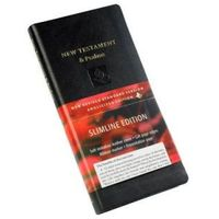 NRSV New Testament and Psalms, Black Imitation leather, NR012:NP