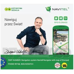 Navitel Navigator Europa (Lifetime) - produkt w magazynie - szybka wysyłka! Darmowy transport od 99 zł | Ponad 200 sklepów stacjonarnych | Okazje dnia!