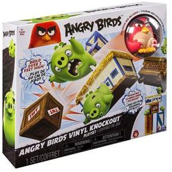 Angry Birds - Vinylowy zestaw Angry Nokaut