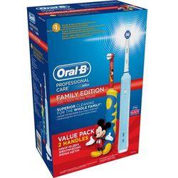 Szczoteczka ORAL-B PC 500 D16 + Szczoteczka ORAL-B D10 Zestaw rodzinny - Ponad 230 sklepów!
