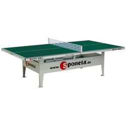 Stół do tenisa Sponeta Outdoor S6-66e zielony