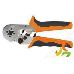 Zaciskarka końcówek tulejkowych 170 mm, średnica tulejek O 2 - 3.2 mm, 4 szczęki,