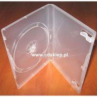 Etui plastikowe na 1DVD 14mm przezroczyste