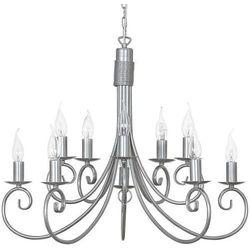 Żyrandol LAMPA wisząca SILVERADO 5420 Nowodvorski świecznikowy ZWIS metalowy IP20 maria teresa srebrny