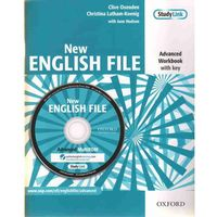 English File NEW Advanced WB With Key + CD OXFORD - Praca zbiorowa (opr. miękka)