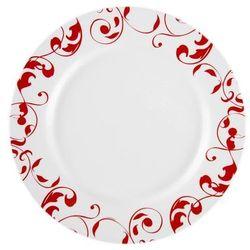 Komplet obiadowy Jazzy Pur Red 18-elementowy