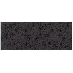 Ascot Up Black Inserto Flowers 20x50 THUP40IF - Płytka ścienna włoskiej firmy Ascot Ceramiche. Seria: Up.