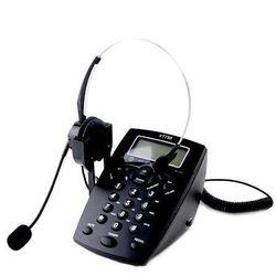 Czarny telefon stacjonarny z słuchawkami gwarancja Zmieniamy ceny co 24h (-50%)