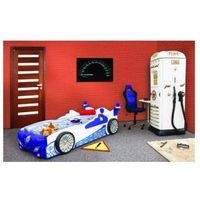 Łóżko z materacem - samochód z materacem Policja, Plastiko