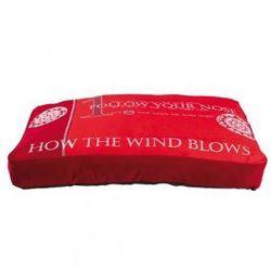 Poduszka dla psa Follow czerwona