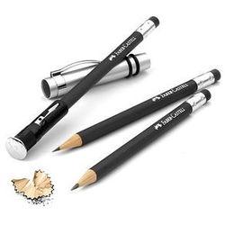 Zestaw ołówków Faber-Castell Perfect Grip - czarny