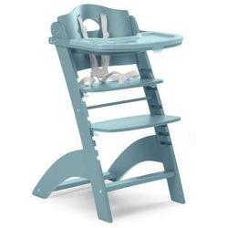 Regulowane krzesło do karmienia z tacką Lambda 2 jade green