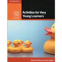 Activities For Very Young Learners Book With Online Resources (opr. miękka)
