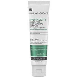 Paulas Choice - Krem matująco - nawilżający do skóry tłustej i mieszanej SPF 30 - Hydralight Shine-Free Mineral Complex SPF 30 - 60 ml - DOSTAWA GRATI Kupując ten produkt otrzymujesz darmową dostawę !