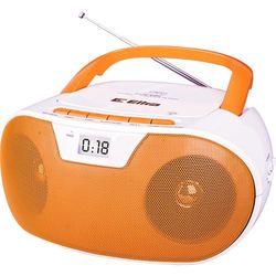 Radio MASZA biało-pomarańczowy