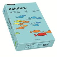 Papier xero A4 kolor RAINBOW past. - morski 84