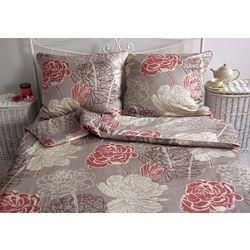 Pościel satynowa Noble Rossara Grey 100% bawełny
