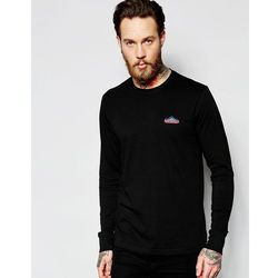 Penfield Long Sleeved T-Shirt with Mountain Logo In Black Exclusive - Black