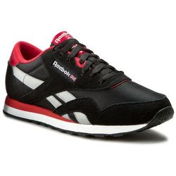 Buty Reebok - Cl Nylon Ts AR2778 Black/Excellent Red/Grey