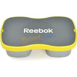 Step do ćwiczeń Easytone Reebok (szaro-żółty) Dostawa GRATIS!