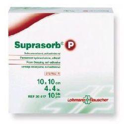 Suprasorb® P 7,5cmx7,5cm nieprzylepny 1 sztuka - poliuretanowy opatrunek piankowy