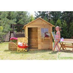 Drewniany domek dla dzieci Mateo