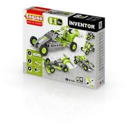 Engino, Inventor, Samochody 8w1, klocki konstrukcyjne Darmowa dostawa do sklepów SMYK