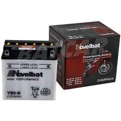Akumulator motocyklowy Novelbat YB9-B 12V 9Ah 90A (EN)