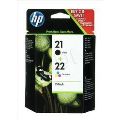 HP Tusz HP21+HP22=SD367AE Zestaw Bk+Kolor C9351AE+C9352AE