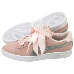 Buty Puma Smash v2 Ribbon Jr 366003 02 (PU409 a)