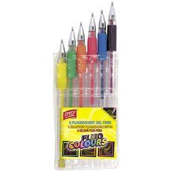Easy, Żelopisy fluorescencyjne, 6 kolorów