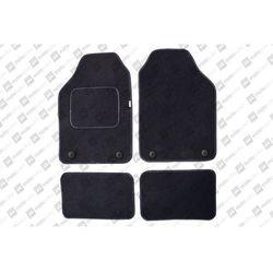 Komplet dywaników welurowych miarowych czarne - Fiat Grande Punto 2005-2010