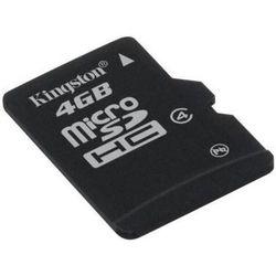 KARTA PAMIĘCI 4GB MICRO SD KINGSTON SDC4/4GB