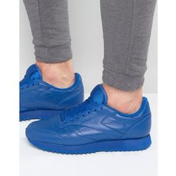 Reebok Classic Leather Ripple Trainers In Blue AR2350 - Blue