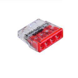 Szybkozłączka instalacyjna 4x2,5 Wago, 5szt.