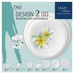 KAHLA Tao Porcelana 'Design 2 Go' Serwis Kawowo-Obiadowy 14 el