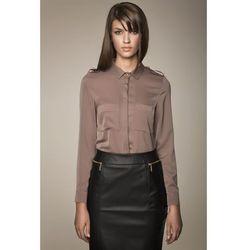 Militarna bluzka MISEBLA - mocca 0054