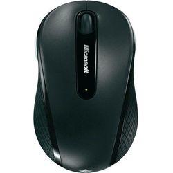 Mysz laserowa Microsoft 4000, bezprzewodowa, 1000 dpi, czarna, BlueTrack, 4 przyciski