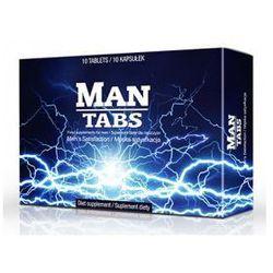 Man Tabs 10tab. - tabletki na potencję dla mężczyzn